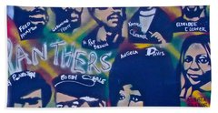 The Panthers Beach Towel