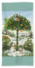 The Partridge In A Pear Tree Beach Sheet