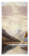 The Path Of Life Beach Towel