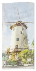 The Penny Royal Windmill Beach Towel
