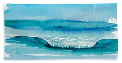The Perfect Wave Beach Towel