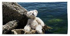 The Philosopher - Teddy Bear Art By William Patrick And Sharon Cummings Beach Towel