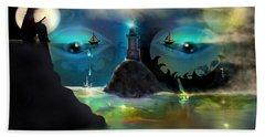 The Power Of Imagination Beach Sheet