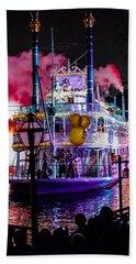 The Mark Twain Disneyland Steamboat  Beach Sheet