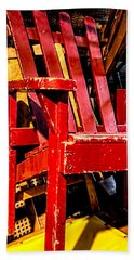 The Red Chair Beach Towel