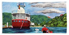 Out Kayaking Beach Towel