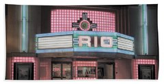 The Rio At Night Beach Towel