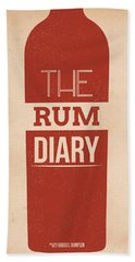 The Rum Diary Beach Towel by Mike Taylor