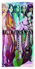 The Runaways Beach Towel by Absinthe Art By Michelle LeAnn Scott