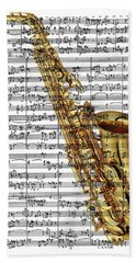 The Saxophone Beach Sheet
