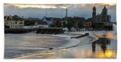The Shannon River Beach Towel