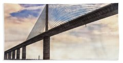 The Skyway Beach Towel