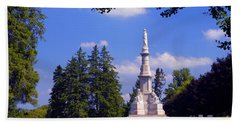 The Soldiers Monument Beach Towel