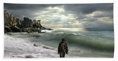The Son Is The Radiance Of God's Glory Beach Towel