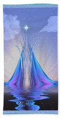 The Star Of Lothlorien Beach Towel