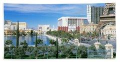 The Strip Las Vegas Nv Beach Towel
