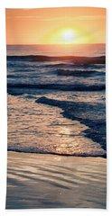 Sun Rising Over The Beach Beach Towel