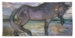 The Sunrise Horse Beach Towel