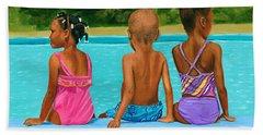 The Swim Lesson Beach Towel