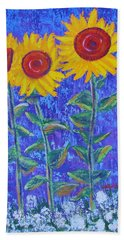 The Tall And Short Of It Beach Towel