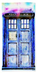 The Tardis Beach Towel