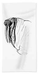 The Time Has Come The Walrus Said Beach Towel