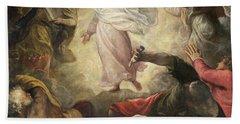 The Transfiguration Of Christ Beach Towel
