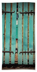 The Turquoise Gate Beach Sheet by Holly Blunkall