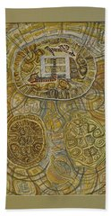 The Turtle Snake Beach Towel