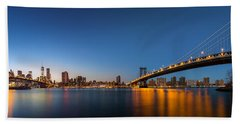The Two Bridges Beach Towel