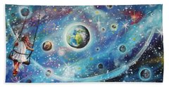 The Universe Is My Playground Beach Towel