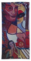 The Unknown Story Beach Towel by Avonelle Kelsey