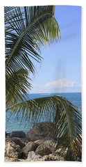 Key West Ocean View Beach Towel