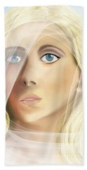 The Waiting Bride Beach Towel