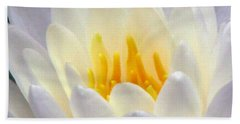 Beach Sheet featuring the photograph The Water Lilies Collection - 11 by Pamela Critchlow