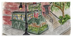 The Waverly Inn And Garden Beach Towel