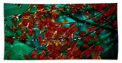 The Whispering Leaves Of Autumn Beach Towel