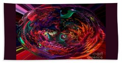 Colorful Orb Beach Sheet