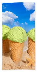 Thee Minty Icecreams Beach Towel