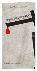 There Will Be Blood Beach Towel