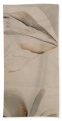 Beach Towel featuring the painting Thinker by Mike Breau
