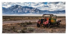 This Old Truck Beach Towel by Robert Bales