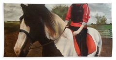 Thompsons Horse Beach Towel