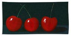 Three Cherries Beach Towel