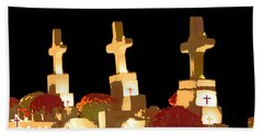 Beach Sheet featuring the photograph Louisiana Artistic Cemetery by Luana K Perez
