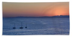 Beach Towel featuring the photograph Three Dreams by Steven Sparks