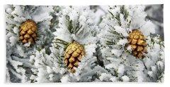 Three Frosty Cones Beach Sheet