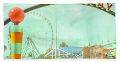 Thrills Of The Midway Beach Towel
