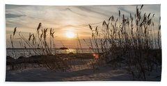 Through The Reeds Beach Towel