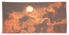 Beach Towel featuring the photograph Through The Smoke by Melanie Lankford Photography